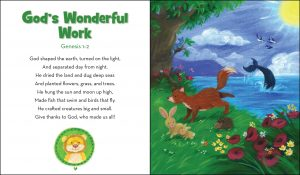 Little Lion's Fuzzy Cover Bible Page 1