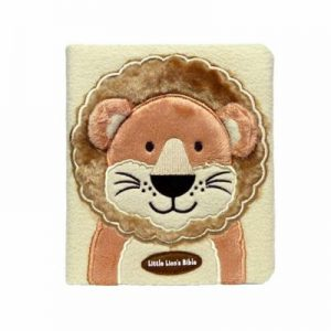 Little Lion's Fuzzy Cover Bible
