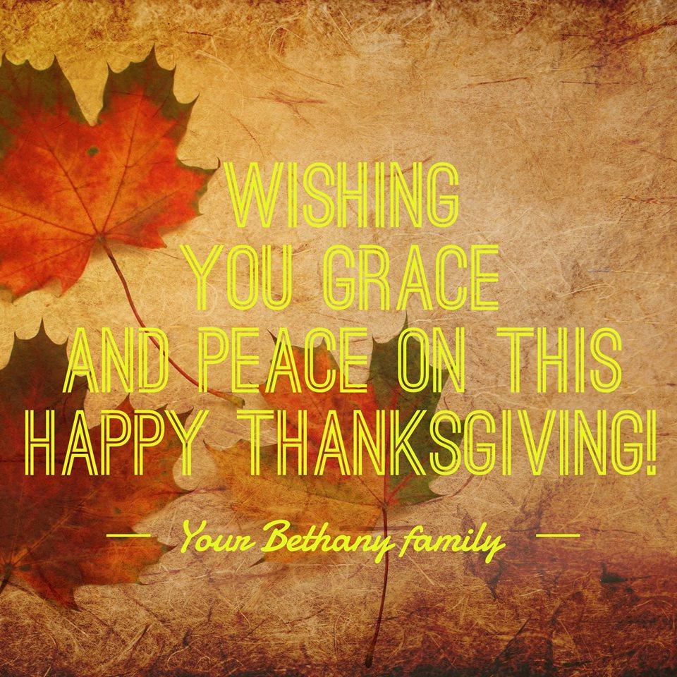 foto de Happy Thanksgiving! - Bethany Lutheran Church